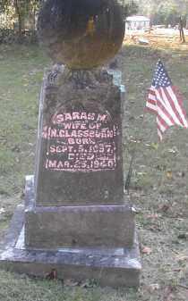 GLASSBURN, SARAH - Gallia County, Ohio   SARAH GLASSBURN - Ohio Gravestone Photos