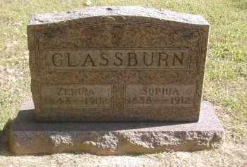 GLASSBURN, ZERUIA - Gallia County, Ohio | ZERUIA GLASSBURN - Ohio Gravestone Photos
