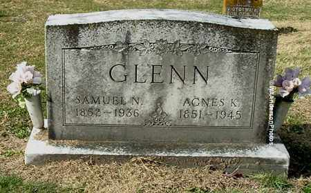 GLENN, SAMUEL N - Gallia County, Ohio | SAMUEL N GLENN - Ohio Gravestone Photos