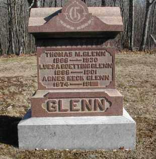 GLENN, AGNES - Gallia County, Ohio | AGNES GLENN - Ohio Gravestone Photos