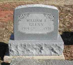 GLENN, WILLIAM F. - Gallia County, Ohio   WILLIAM F. GLENN - Ohio Gravestone Photos