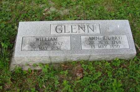 CURRY GLENN, ANN - Gallia County, Ohio | ANN CURRY GLENN - Ohio Gravestone Photos