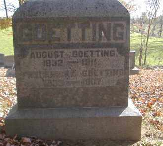 GOETTING, FREDERICKA - Gallia County, Ohio   FREDERICKA GOETTING - Ohio Gravestone Photos