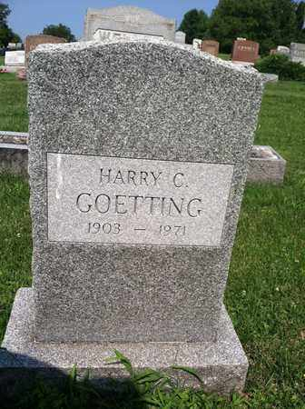 GOETTING, HARRY - Gallia County, Ohio | HARRY GOETTING - Ohio Gravestone Photos