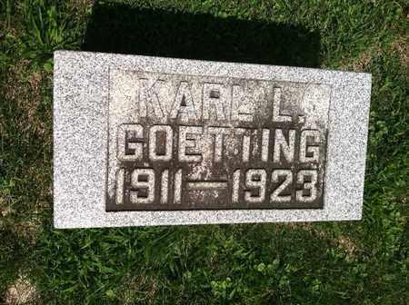 GOETTING, KARL - Gallia County, Ohio | KARL GOETTING - Ohio Gravestone Photos