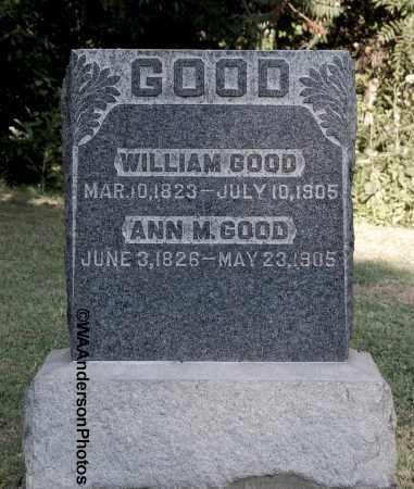 GOOD, ANN M - Gallia County, Ohio   ANN M GOOD - Ohio Gravestone Photos