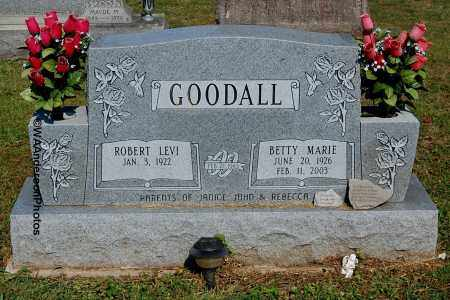 GOODALL, BETTY MARIE - Gallia County, Ohio | BETTY MARIE GOODALL - Ohio Gravestone Photos