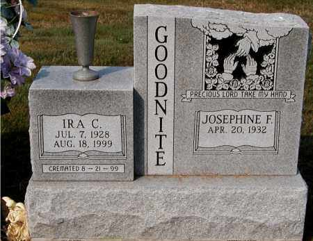 GOODNITE, IRA C. - Gallia County, Ohio | IRA C. GOODNITE - Ohio Gravestone Photos