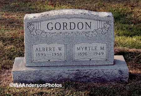 GORDON, MYRTLE M - Gallia County, Ohio | MYRTLE M GORDON - Ohio Gravestone Photos