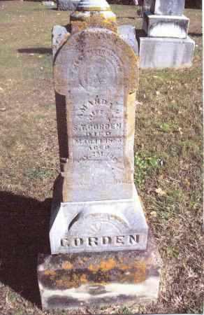 GORDON, AMANDA H. - Gallia County, Ohio | AMANDA H. GORDON - Ohio Gravestone Photos