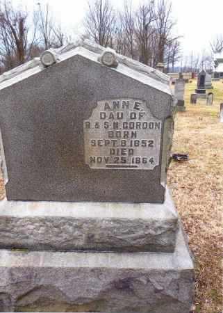GORDON, ANN E. - Gallia County, Ohio | ANN E. GORDON - Ohio Gravestone Photos