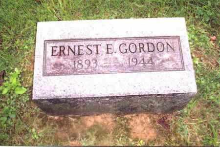 GORDON, ERNEST E. - Gallia County, Ohio | ERNEST E. GORDON - Ohio Gravestone Photos