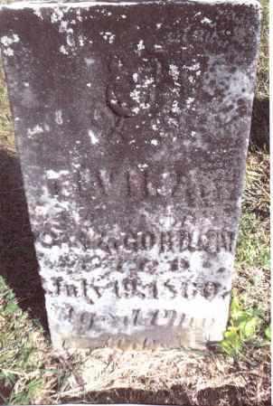 GORDON, ELVIRA - Gallia County, Ohio | ELVIRA GORDON - Ohio Gravestone Photos