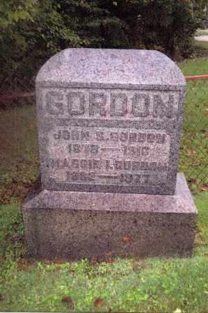 ROUSH GORDON, MAGGIE - Gallia County, Ohio | MAGGIE ROUSH GORDON - Ohio Gravestone Photos