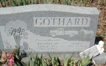 GOTHARD, RUSSELL M. - Gallia County, Ohio | RUSSELL M. GOTHARD - Ohio Gravestone Photos