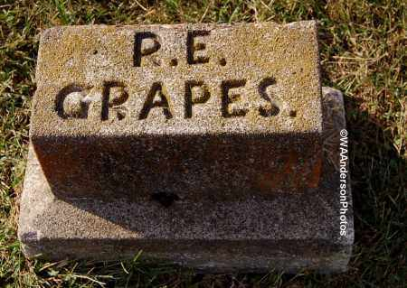GRAPES, R. E. - Gallia County, Ohio | R. E. GRAPES - Ohio Gravestone Photos