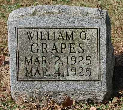 GRAPES, WILLIAM O - Gallia County, Ohio | WILLIAM O GRAPES - Ohio Gravestone Photos