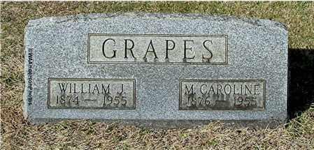 GRAPES, WILLIAM J - Gallia County, Ohio   WILLIAM J GRAPES - Ohio Gravestone Photos