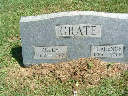 GRATE, CLARENCE - Gallia County, Ohio | CLARENCE GRATE - Ohio Gravestone Photos