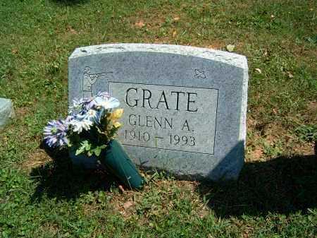 GRATE, GLENN A. - Gallia County, Ohio | GLENN A. GRATE - Ohio Gravestone Photos