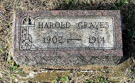 GRAVES, HAROLD - Gallia County, Ohio | HAROLD GRAVES - Ohio Gravestone Photos