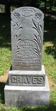 GRAVES, IRA - Gallia County, Ohio | IRA GRAVES - Ohio Gravestone Photos