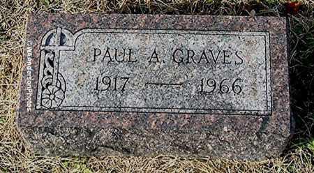 GRAVES, PAUL A - Gallia County, Ohio | PAUL A GRAVES - Ohio Gravestone Photos