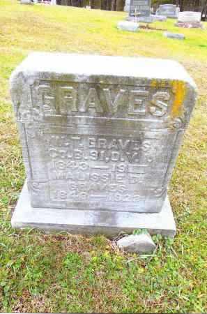 GRAVES, MALISSIE D. - Gallia County, Ohio | MALISSIE D. GRAVES - Ohio Gravestone Photos
