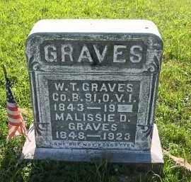 GRAVES, W.T. - Gallia County, Ohio   W.T. GRAVES - Ohio Gravestone Photos