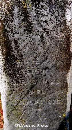 GRAYUM, WILLIAM (CLOSE-UP) - Gallia County, Ohio   WILLIAM (CLOSE-UP) GRAYUM - Ohio Gravestone Photos