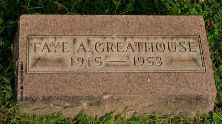 ABBOTT GREATHOUSE, FAYE A - Gallia County, Ohio | FAYE A ABBOTT GREATHOUSE - Ohio Gravestone Photos