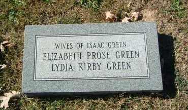 PROSE GREEN, ELIZABETH - Gallia County, Ohio | ELIZABETH PROSE GREEN - Ohio Gravestone Photos