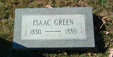 GREEN, ISAAC - Gallia County, Ohio | ISAAC GREEN - Ohio Gravestone Photos