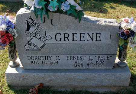 GREENE, ERNEST L. - Gallia County, Ohio | ERNEST L. GREENE - Ohio Gravestone Photos