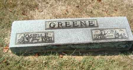 GREENE, JOSHUA E - Gallia County, Ohio | JOSHUA E GREENE - Ohio Gravestone Photos
