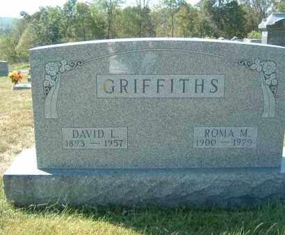 GRIFFITHS, ROMA M. - Gallia County, Ohio | ROMA M. GRIFFITHS - Ohio Gravestone Photos