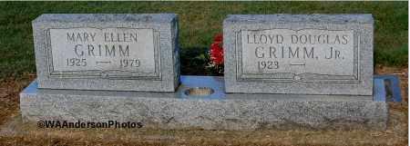 GRIMM, MARY ELLEN - Gallia County, Ohio | MARY ELLEN GRIMM - Ohio Gravestone Photos