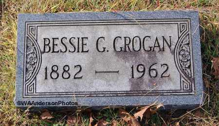 GROGAN, BESSIE G - Gallia County, Ohio | BESSIE G GROGAN - Ohio Gravestone Photos