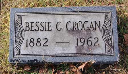 STARCHER GROGAN, BESSIE G - Gallia County, Ohio | BESSIE G STARCHER GROGAN - Ohio Gravestone Photos