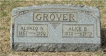 ROUSH GROVER, ALICE BLANCH - Gallia County, Ohio | ALICE BLANCH ROUSH GROVER - Ohio Gravestone Photos