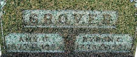 GROVER, AMY U (CLOSE-UP) - Gallia County, Ohio | AMY U (CLOSE-UP) GROVER - Ohio Gravestone Photos
