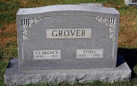 GROVER, CLARENCE - Gallia County, Ohio   CLARENCE GROVER - Ohio Gravestone Photos