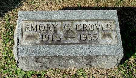 GROVER, EMORY C - Gallia County, Ohio | EMORY C GROVER - Ohio Gravestone Photos