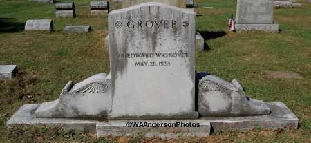 GROVER, EDWARD W (DR.) - Gallia County, Ohio | EDWARD W (DR.) GROVER - Ohio Gravestone Photos