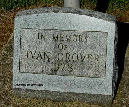 GROVER, IVAN (CLOSE-UP) - Gallia County, Ohio | IVAN (CLOSE-UP) GROVER - Ohio Gravestone Photos