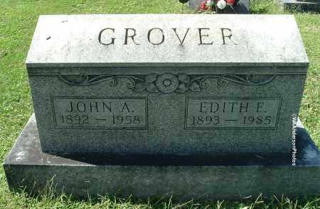 GROVER, EDITH E - Gallia County, Ohio | EDITH E GROVER - Ohio Gravestone Photos
