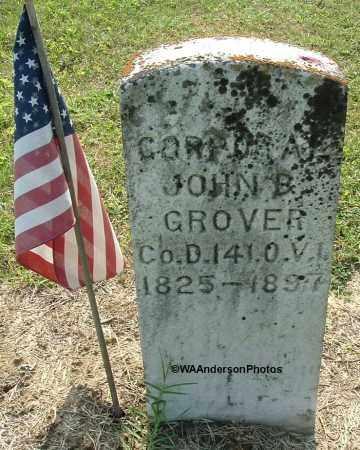 GROVER, JOHN B - Gallia County, Ohio   JOHN B GROVER - Ohio Gravestone Photos