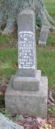GROVER, KATIE M. - Gallia County, Ohio   KATIE M. GROVER - Ohio Gravestone Photos