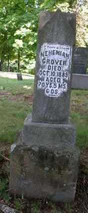 GROVER, NEHEMIAH - Gallia County, Ohio   NEHEMIAH GROVER - Ohio Gravestone Photos