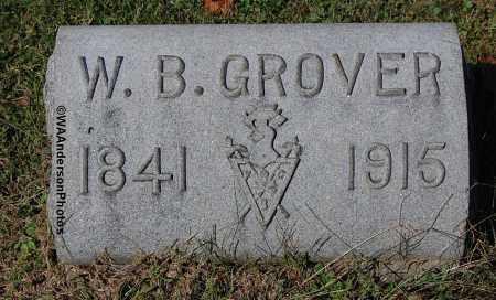GROVER, W. B. - Gallia County, Ohio | W. B. GROVER - Ohio Gravestone Photos